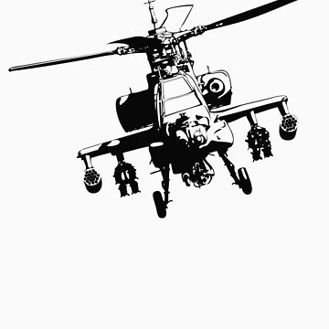 AH-64  Apache by hyperdesign
