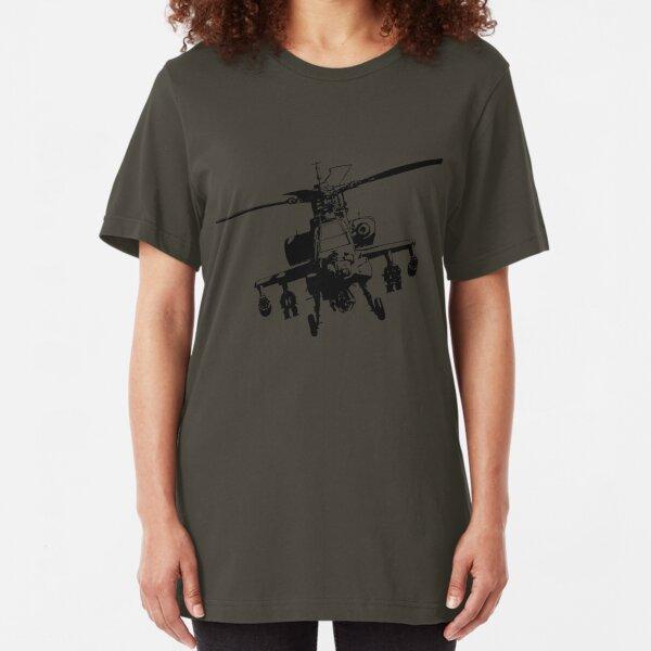 AH-64  Apache Slim Fit T-Shirt