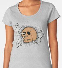 skull sneeze #2 Women's Premium T-Shirt