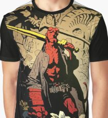 Hellboy The Storm and The Fury Copy Graphic T-Shirt