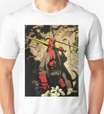 Hellboy The Storm and The Fury Copy Unisex T-Shirt