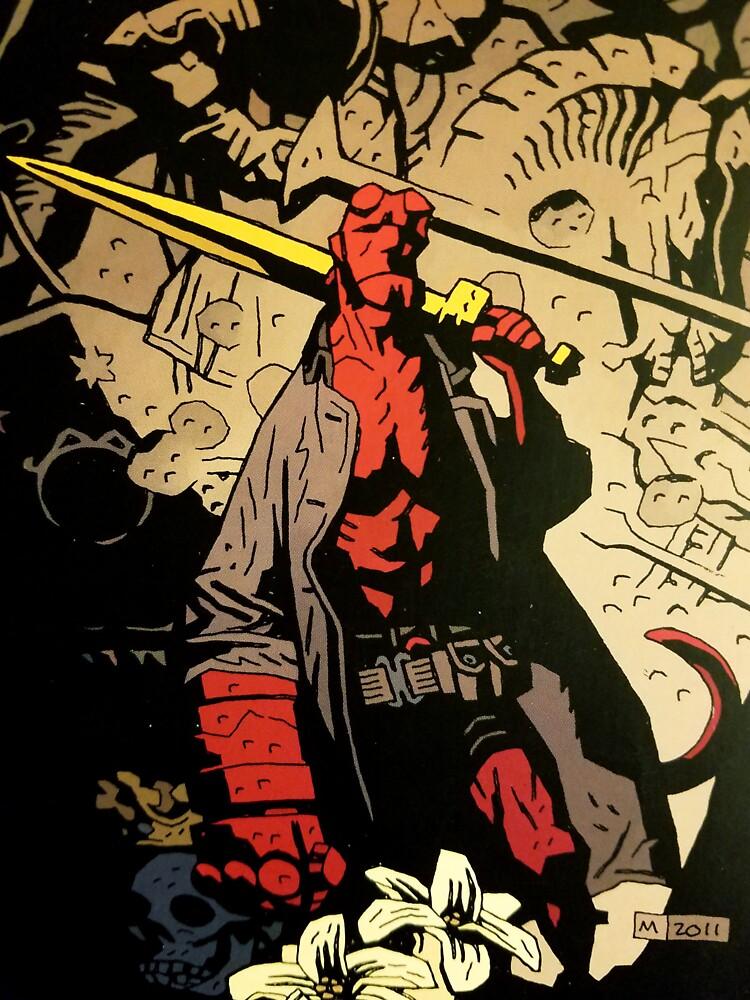 Hellboy Der Sturm und die Fury Copy von Oclibertine