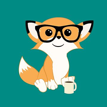 Hipster Fox by ZantheClothing