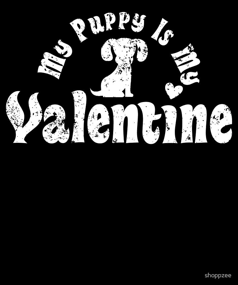 My Anti Valentine Puppy by shoppzee