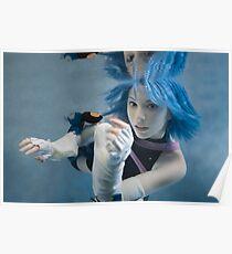 Aqua Cosplay - Underwater Poster