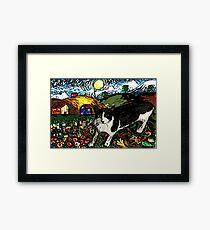 Tasha's Starry Night Out Framed Print