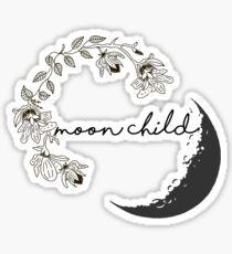 Mond Kind Sticker