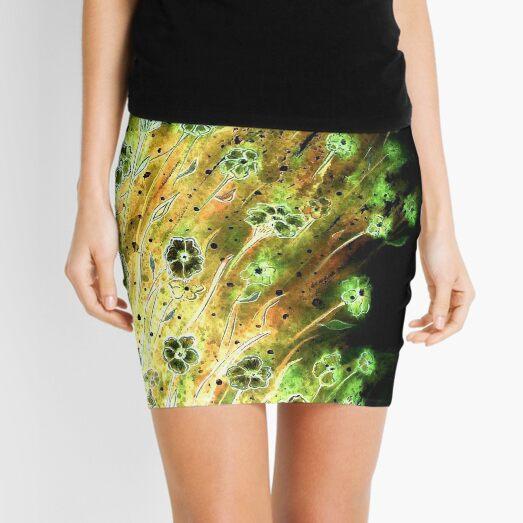 Irish Flowers Mini Skirt