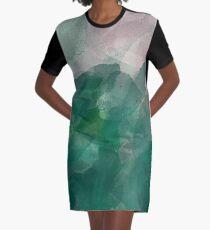 BLOTTER FADE Graphic T-Shirt Dress