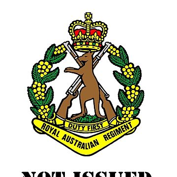 Earned Not Issued-Color Skippy , dark text for dark shirts or jumpers by RAR343
