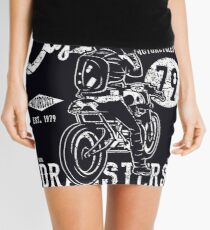 Cafe Racer Reunion Mini Skirt