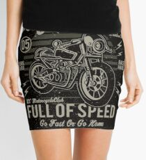Cafe Racer 05 Mini Skirt