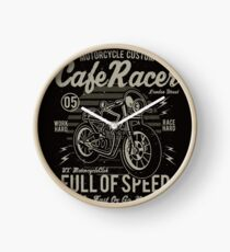 Cafe Racer 05 Clock