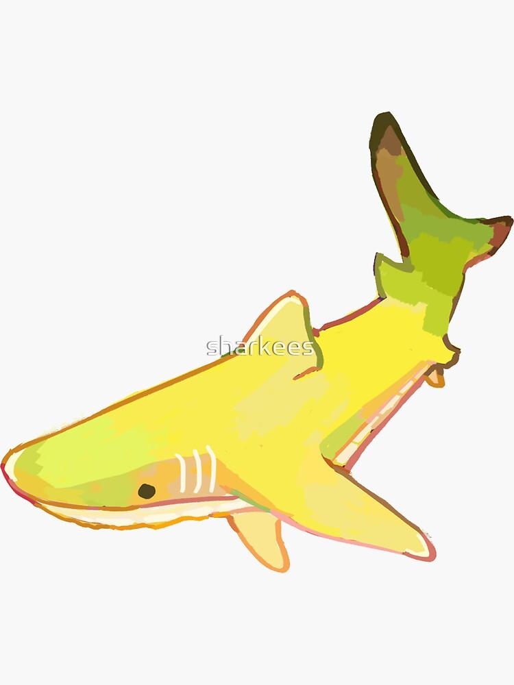 Banana Shark by sharkees