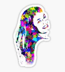 Flower Girl Sticker