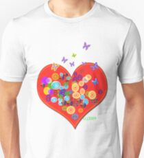 Heartburst Unisex T-Shirt