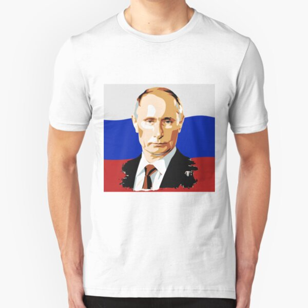 President of Russia WWP Slim Fit T-Shirt