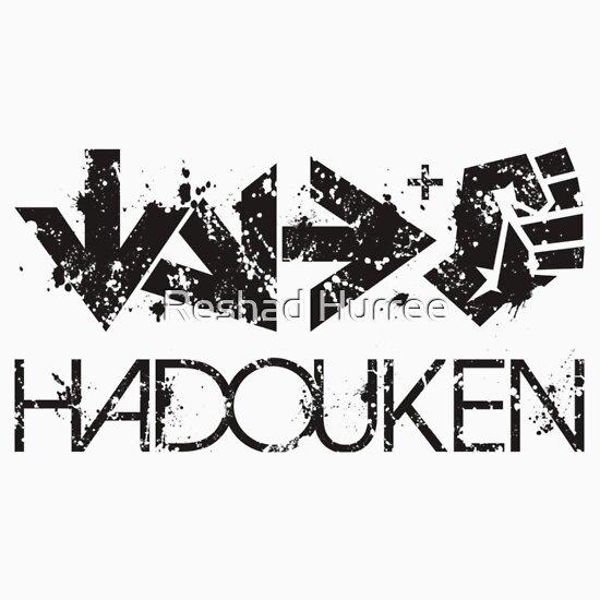TShirtGifter presents: Hadouken Command Black