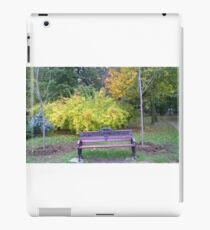 Lonely bench iPad Case/Skin