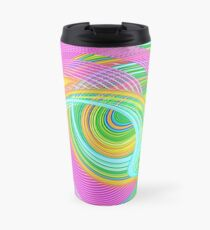 Abstract turning Travel Mug