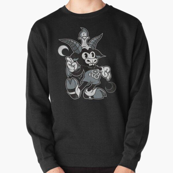 Do Walt Thou Wilt - Baphomet - Creepy Cute Occult Pullover Sweatshirt