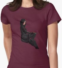 Japanese Policewoman Women's Fitted T-Shirt