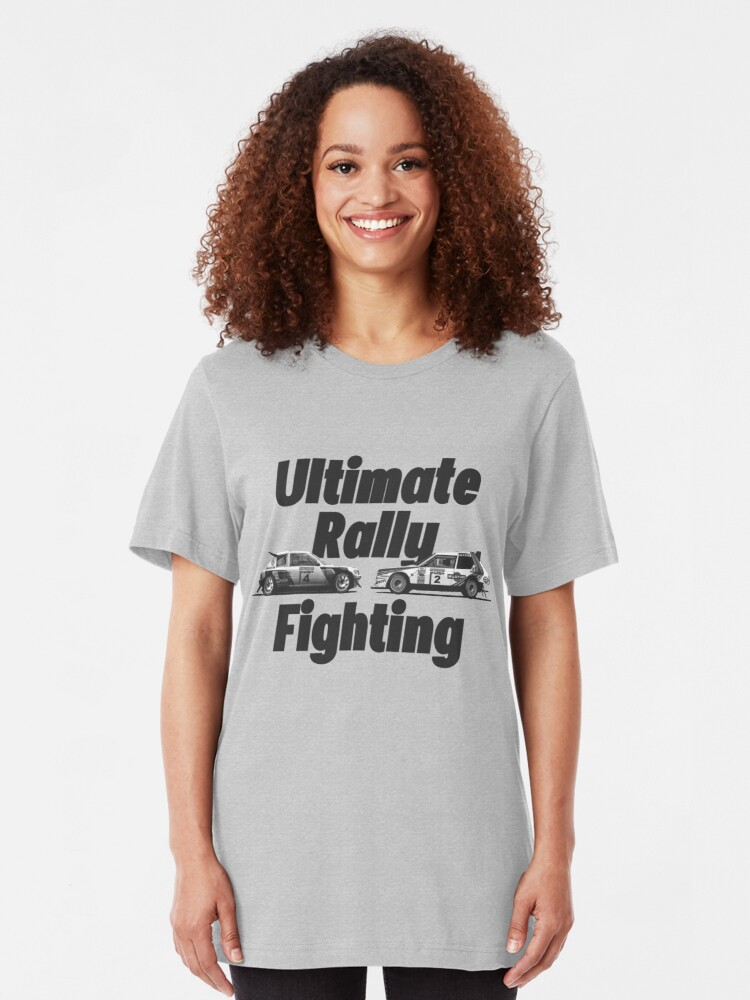 Alternate view of Ultimate rally fighting Slim Fit T-Shirt