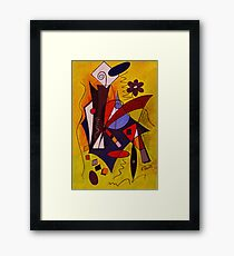 Step Lively Now Framed Print