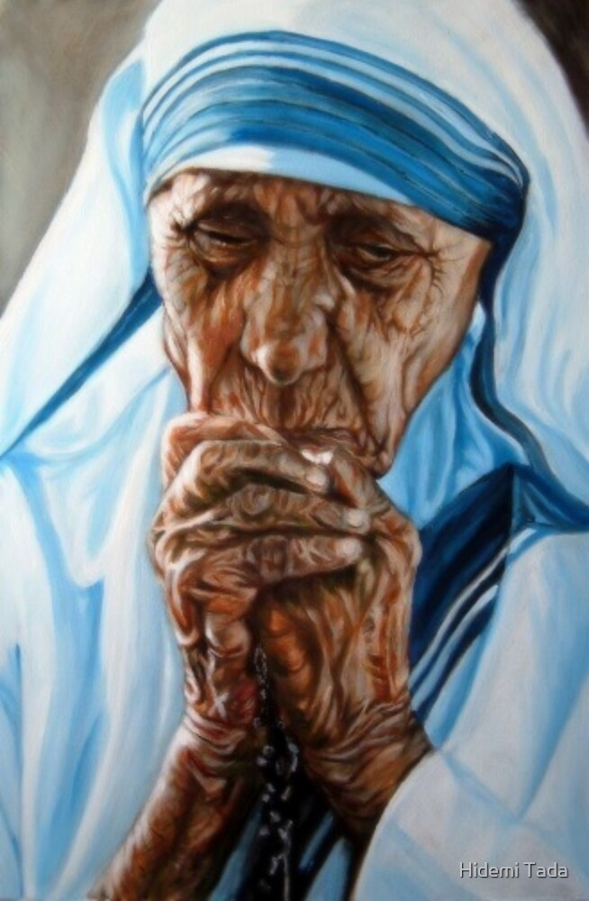 Mother Teresa by Hidemi Tada