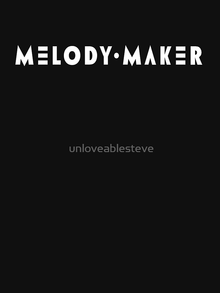 Melody Maker magazine by unloveablesteve