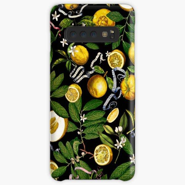 Lemon Tree - Black Samsung Galaxy Snap Case