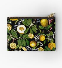 Lemon Tree - Black Studio Pouch
