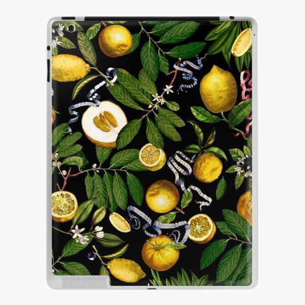 Lemon Tree - Black iPad Skin