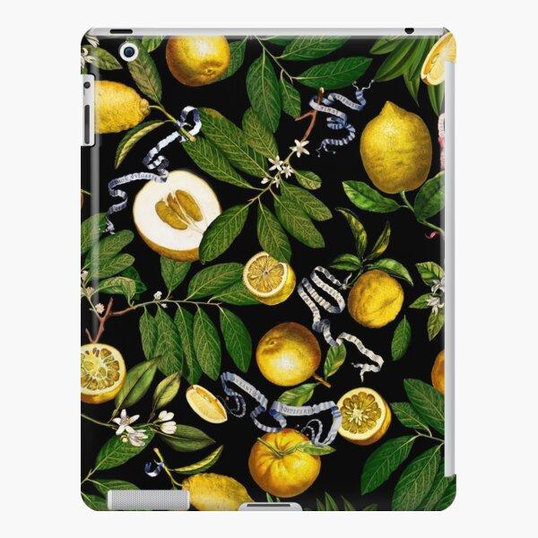Lemon Tree - Black iPad Snap Case