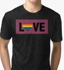Pride Love Tri-blend T-Shirt