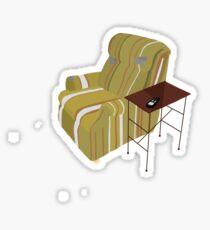 Frasier, Martin Crane Chair Sticker