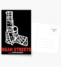 Mean Streets Scorsese Postcards