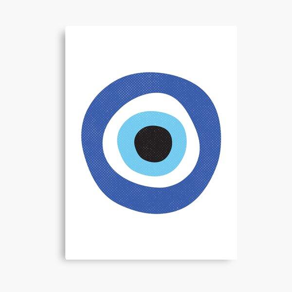 Evil Eye Protection Symbol Canvas Print