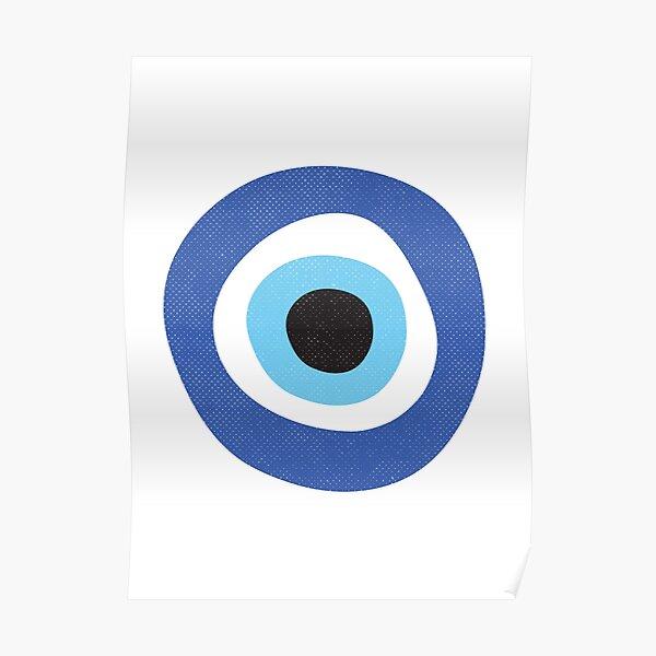 Evil Eye Protection Symbol Poster