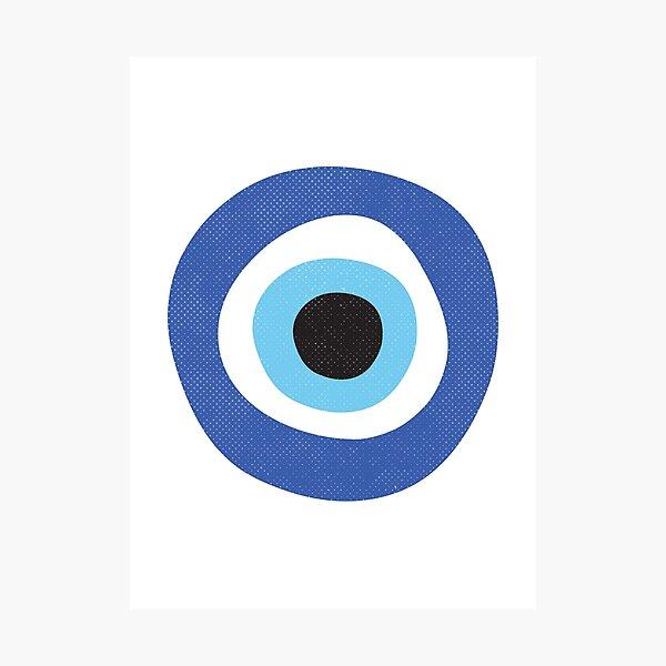 Evil Eye Protection Symbol Photographic Print