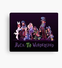 Back to Wonderland Canvas Print