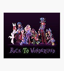 Back to Wonderland Photographic Print