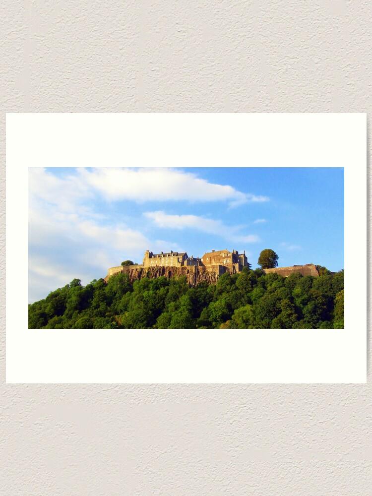 Alternate view of Stirling  Castle Art Print