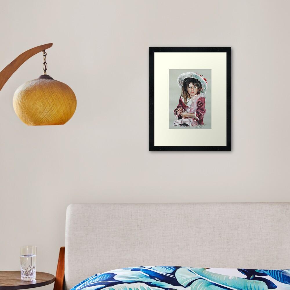 Tinkerbell Framed Art Print