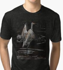 The Crane Ballet #2 Tri-blend T-Shirt
