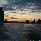 Sunset at JAX by Jim Roche