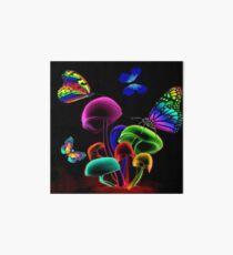 WORLD GLOWING MUSHROOMS Art Board