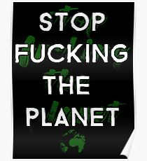 Ecology Activism Poster