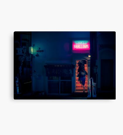 Diner 5Gallons Canvas Print