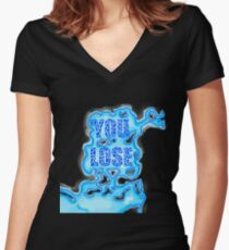 """Quentin Quire's Psychic """"You Lose"""" Shirt Women's Fitted V-Neck T-Shirt"""